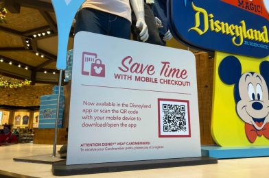 PHOTOS: Disneyland Resort Now Testing New Mobile Checkout Shopping System at World of Disney