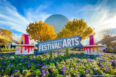 What's New in EPCOT: New Eats and Drinks, and More Festival of the Arts FUN!