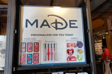 New Customizable Valentine's Day Souvenirs Available at MADE at Disney Springs