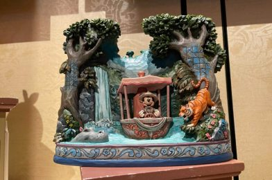 """PHOTOS: New Jim Shore """"Jungle Cruise"""" Mickey Mouse Figure Available in Walt Disney World"""