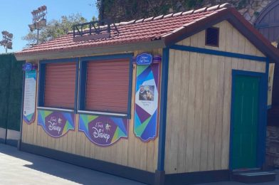 "PHOTOS: First Booth for ""A Touch of Disney"" Event Spotted at Disney California Adventure"