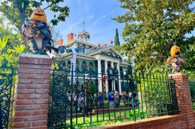 PHOTOS & VIDEOS: See How the Haunted Mansion Has CHANGED in Disneyland!