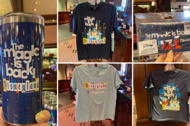"""PHOTOS: New """"The Magic is Back"""" Merchandise Collection Debuts at the Disneyland Resort"""
