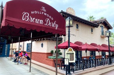 First Look at the Revamped Hollywood Brown Derby Menu in Disney World!