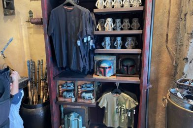 """PHOTOS: New """"Mandalorian"""" Gear Arrives, Kylo Ren and Storm Trooper Figures are Ready for Action in Galaxy's Edge at Disneyland Resort"""