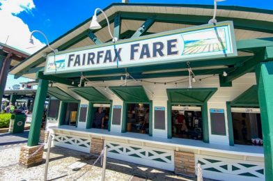 REVIEW of the NEW Hot Dog Menu at Fairfax Fare in Disney's Hollywood Studios