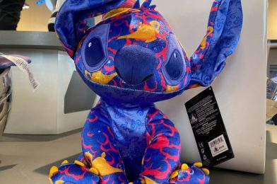 Disney's Newest Stitch Crashes Plush Is Actually…Kind of Pretty?!