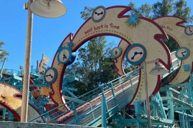 PHOTOS: Primeval Whirl Track Continues to be Dismantled at Disney's Animal Kingdom