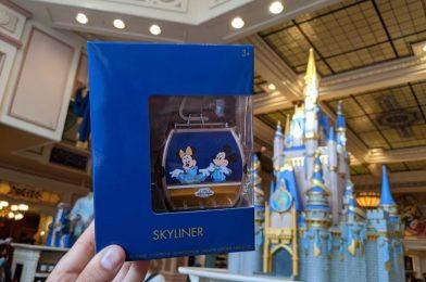 PHOTOS: 50th Anniversary Disney Skyliner Gondola Toy Glides Into Walt Disney World